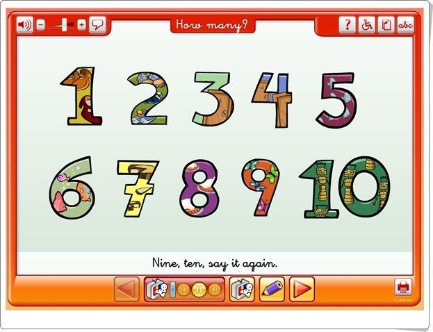 """""""How many?"""" (Números en Inglés de Educación Infantil)"""