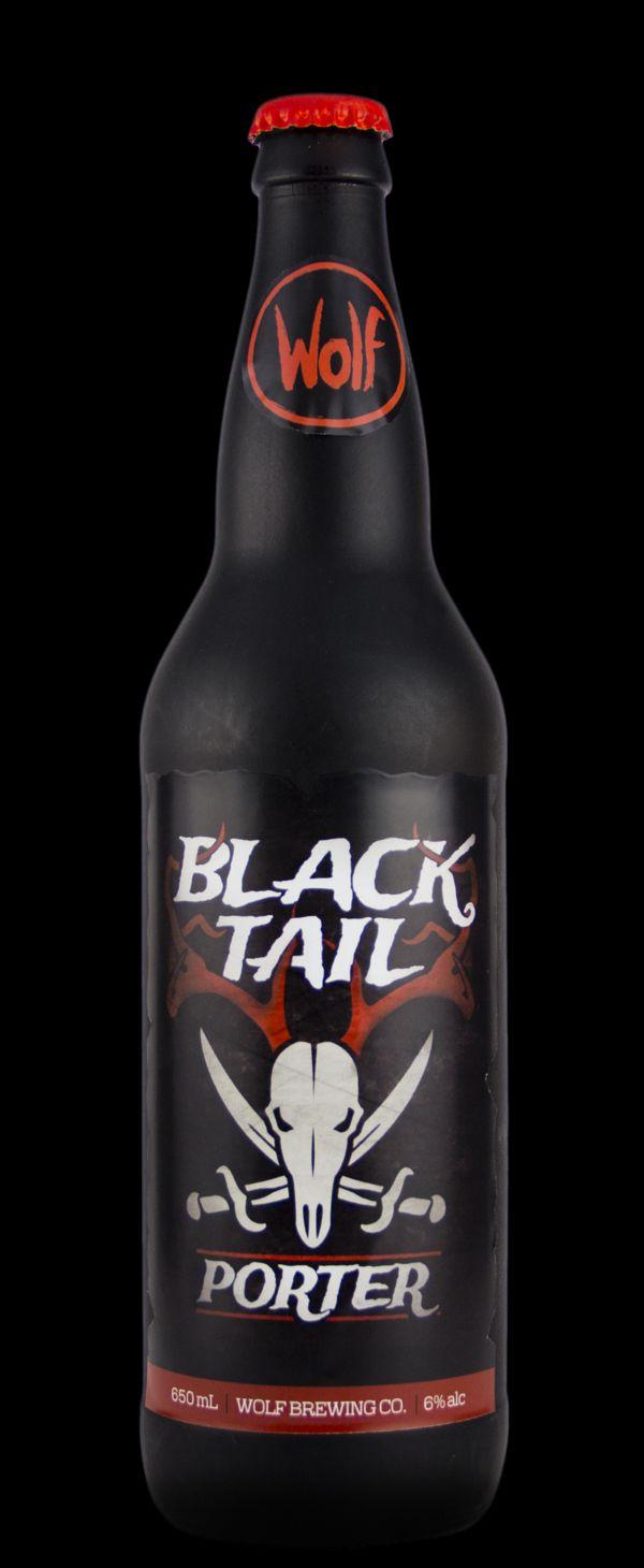 Wolf Beer Label & Bottle design PD