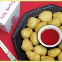 This is the recipe for the sweet red sauce served with chinese chicken balls in Chinese restaurants.