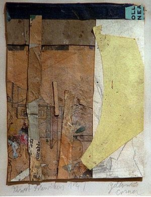 Kurt Schwitters: It is pieces such as this that make me love the work of K.S. so much!