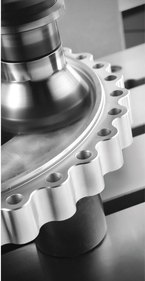Smart CNC software technology allows the machine to self-adjust for various parameters with relative ease.