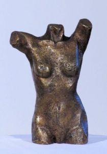 Sculpture de Didier MALLARD: buste femme