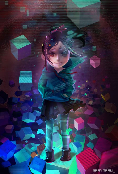 Wreck-It Ralph: Vanellope's bad end by ~MARYMARU on deviantART