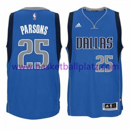 Dallas Mavericks Trikot Herren 15-16 Chandler Parsons 25# Road Basketball Trikot Swingman
