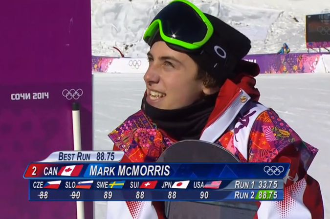 Mark McMorris Bronze medal sochi