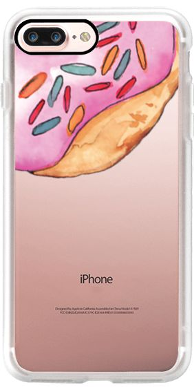 Casetify iPhone 7 Plus Case and other Food iPhone Covers - Big Donuts by Bruna Medeiros | Casetify