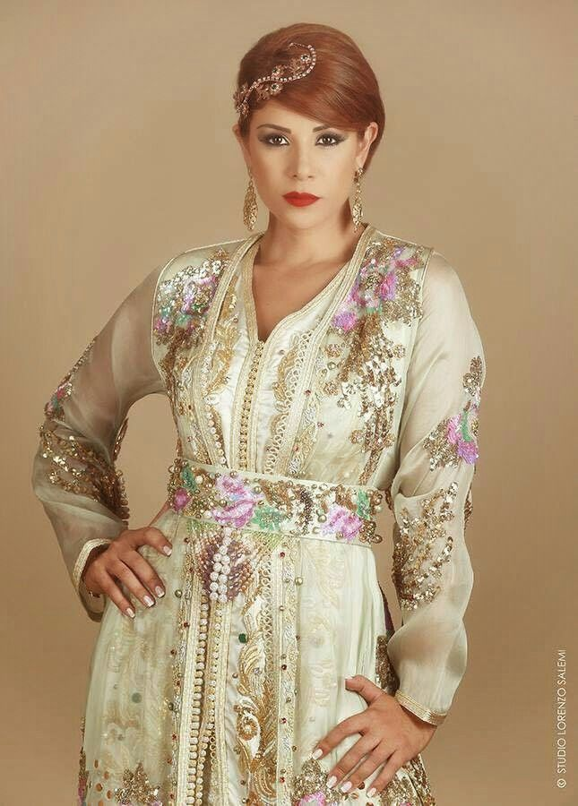 leila hadioui ♡  Moroccan caftan and accessories