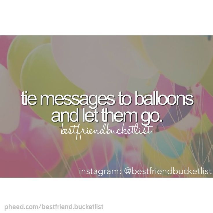 Project: This would be so cool to do because if I found a balloon with a message on it, I would love it. I would want to do this then put my number on it, so the person could message me and tell me where it landed.