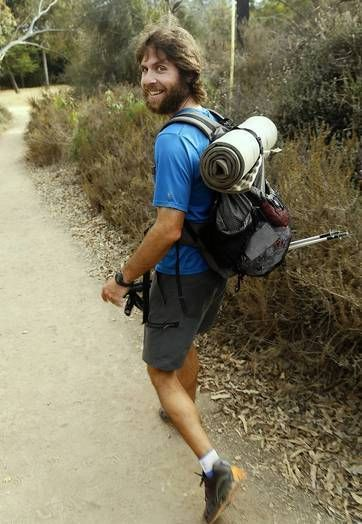 A vegan who chewed up the Pacific Crest Trail -  Santa Monica College coach who may have set record on the Pacific Crest hike credits his diet for the feat of endurance