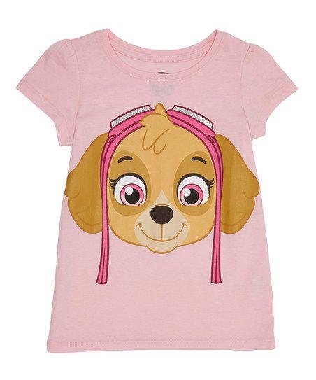 PAW Patrol Skye Face Puff-Sleeve Tee - Toddler & Girls   zulily