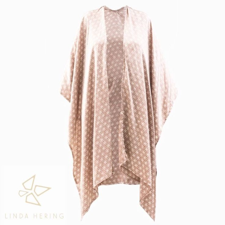 Silk KAFTAN beige is soon available in the Linda Hering online shop