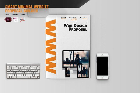 Smart Minimal Website Proposal by BizzCreatives on @creativemarket