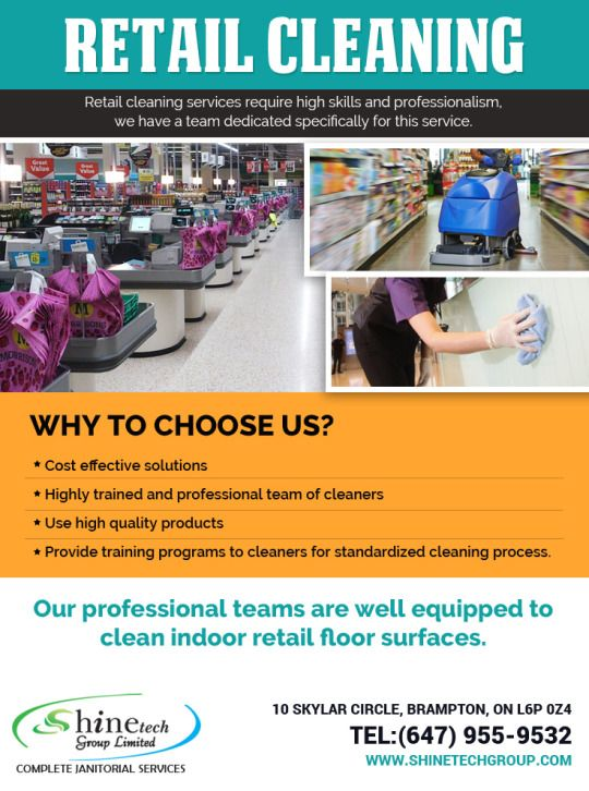 Book the best #Retail #Cleaning #Company in #Toronto at the lowest prices. Free quote & secure, cash free payment options. https://goo.gl/gss6e3