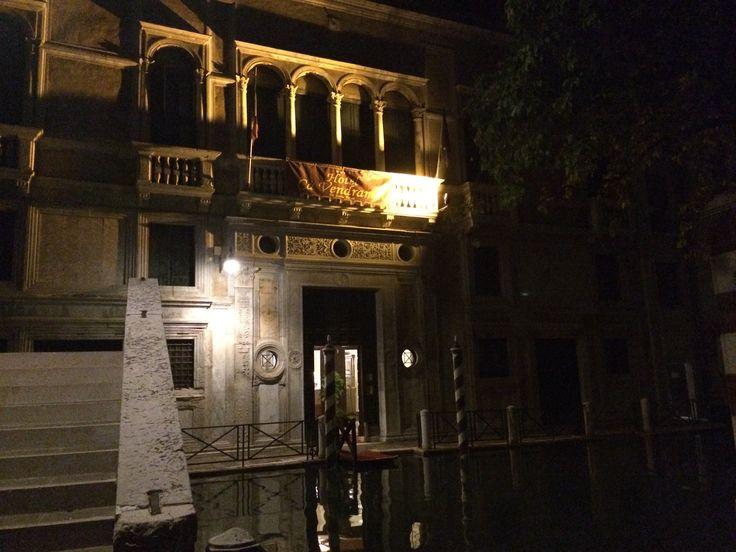 Первое впечатление: ночь, дворцы....романтика