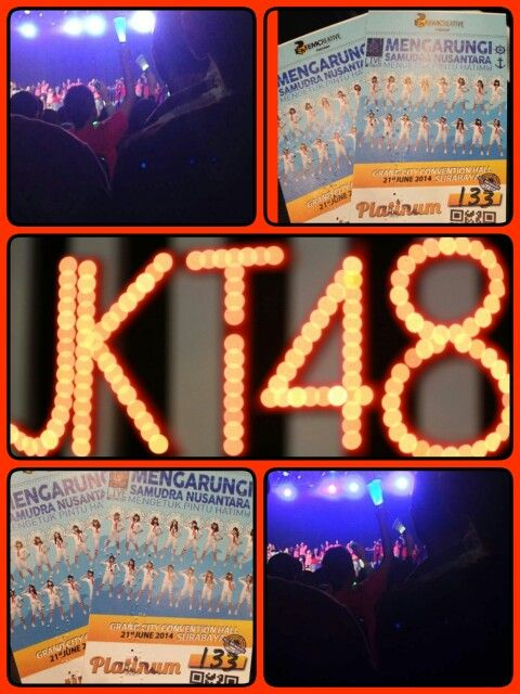 #jkt48 surabaya concert