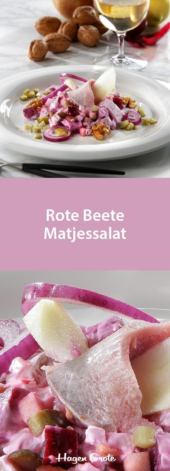 Rote Beete Matjessalat