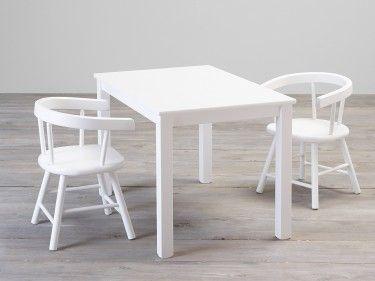 Kindertafel 50 x 75 cm + 2 stoeltjes