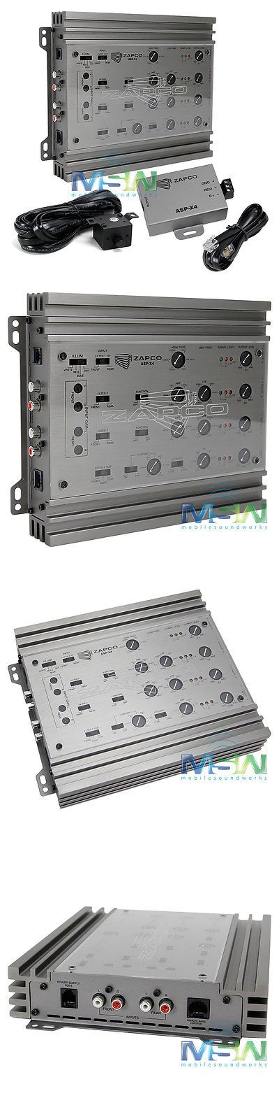Signal Processors: Zapco Asp-4X 2 3 4-Way Audiophile Grade Car Audio Electronic Crossover Aspx4 X4 -> BUY IT NOW ONLY: $399.95 on eBay!