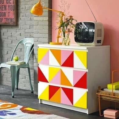 DIY IKEA Dresser Upgrades-Geometric Furniture
