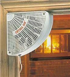 Corner Doorway Fan with 10' Cord