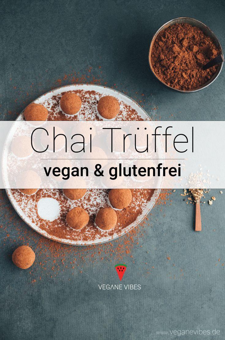 Chai-Schokoladen Trüffel Rezept