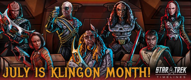 Klingon Mega-Event A Good Day to Lie comes to Star Trek Timelines   Captain:  Starfleet Command has intercepted grave news from Qonos: Klingon Chancellor Martok has been kidnapped. Reports of infighting and scheming for power among the remaining High Councillors are rampant and the very foundation of the Klingon Empire appears to be destabilizing.  These are desperate times Captain. Get to your ship and set a course for Qonos. Find Chancellor Martok. Hold the Empire together at all costs…