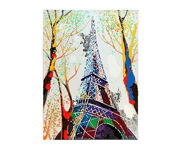 Lienzo al óleo París - 80x110 cm