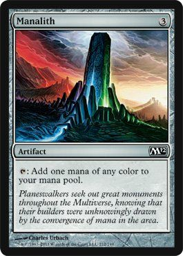 Magic: the Gathering - Manalith - Magic 2012 by Wizards of the Coast. $0.45. A…