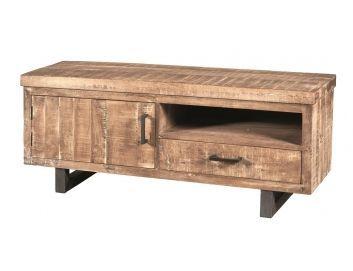 Vintage Meubels - TV Meubel Factory 120 - TV meubels - TV & Wandmeubels   4udesigned.nl