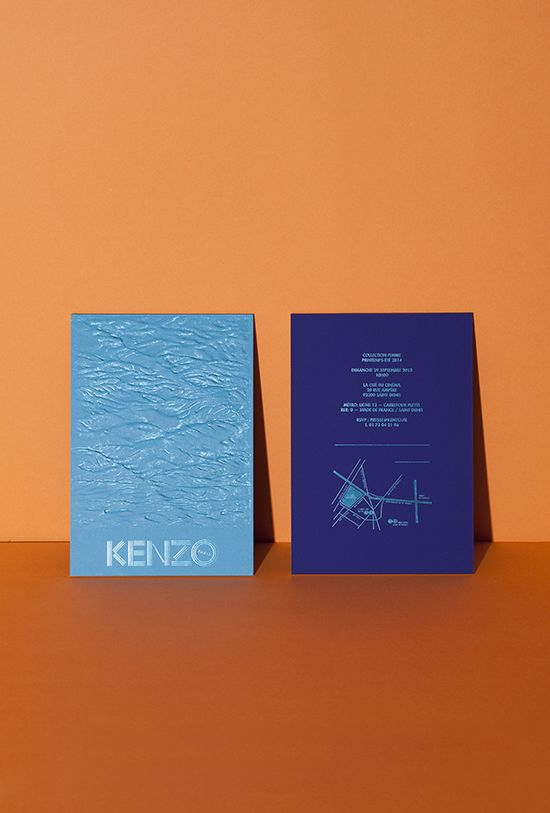 THE WOMEN'S SPRING/SUMMER 2014 SHOW INVITATION - Kenzine, the Kenzo official blog