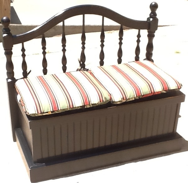 13 best images about refurbished bench ideas on pinterest repurposed aubrey o 39 day and search - Bench at bottom of bed ...