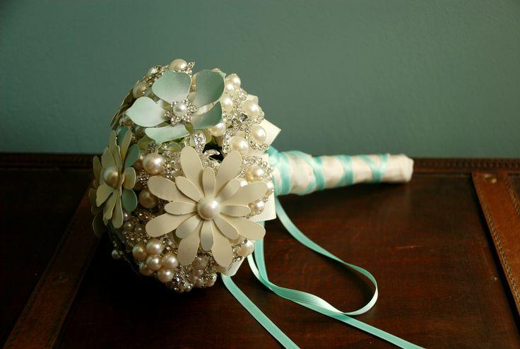 Bouquet da sposa di cristalli Ada è un bouquet di gioiello molto elegante ed sofisticato per una sposa única come te