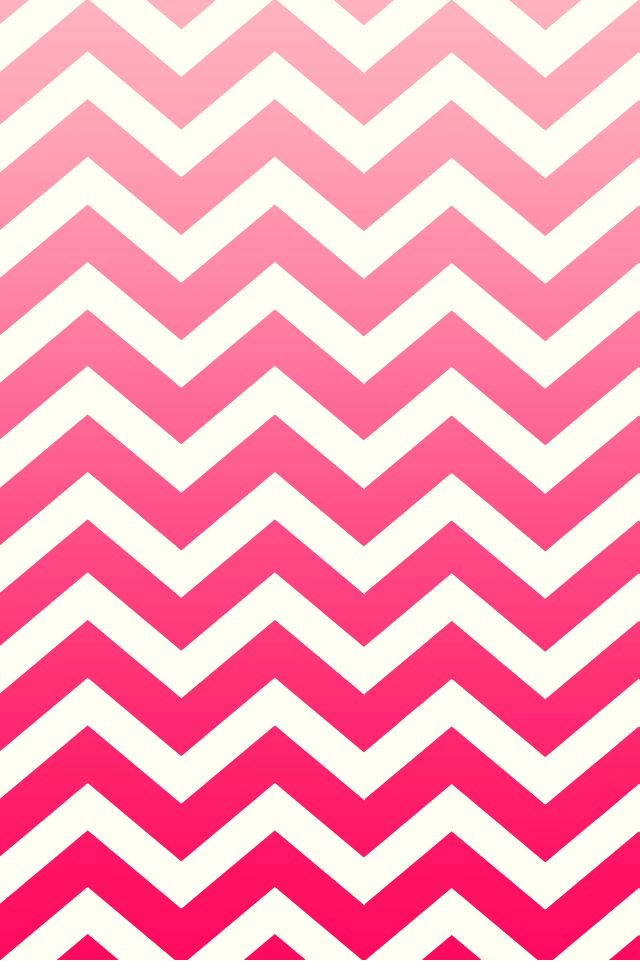 pink ombre chevron background iphone