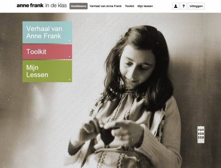 Anne Frank in de klas