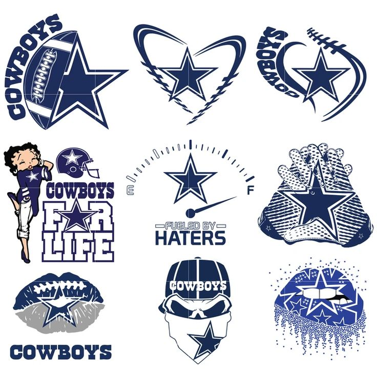 Dallas Cowboys svg png pdf eps dxf vector files