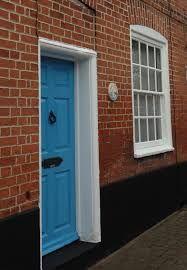 farrow ball st giles blue paint door - Google Search