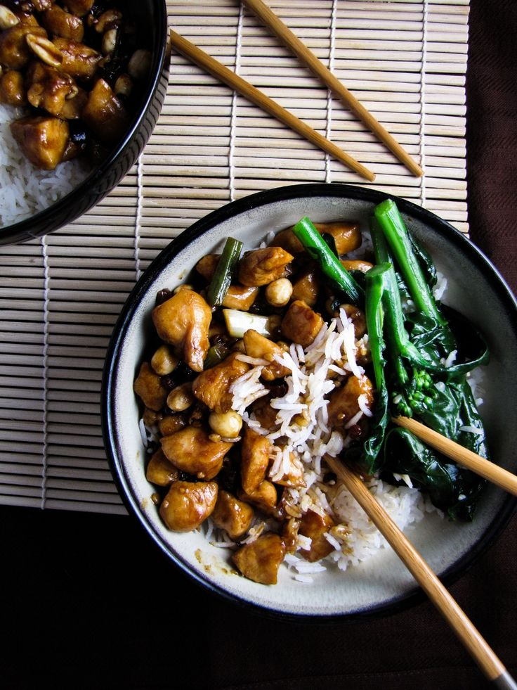 Gong Bao Chicken with Peanuts   SouthEast Asia   Pinterest