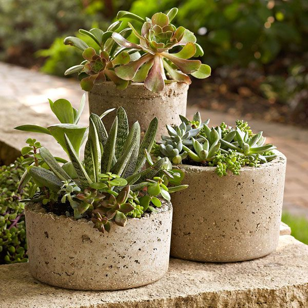 DIY..make your own hypertufa pots...this weekend project~