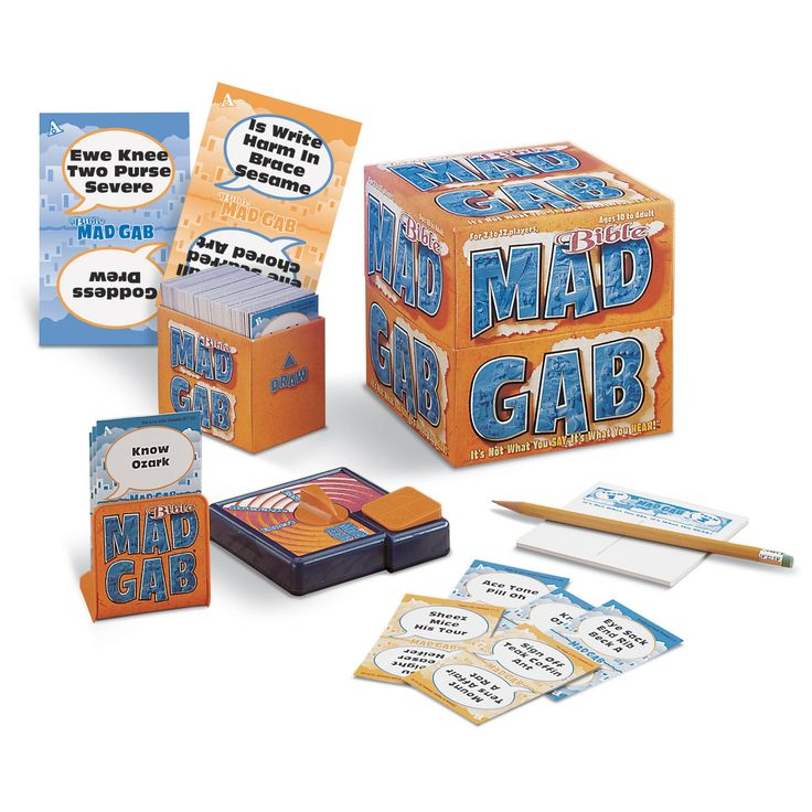 Talicor Mad Gab Game: Bible Edition