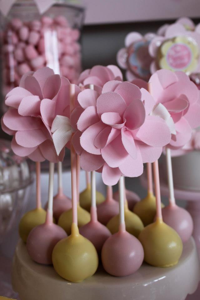 Floral Cake Pops Pinterest