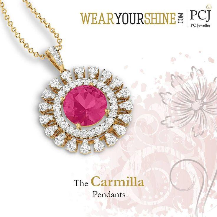 "Every woman's jewel crush, ""The Carmilla Pendant"" by WearYourShine. Shop now #WearYourShine #love #PCJeweller #Happiness #Diamonds #Pendants #Gemstones #Beauty #like #fashion #vintage #Jewellery #Gold #InstaJewellery #Jewelry #Jewelrygram"