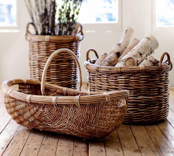 Chelsea Oblong Basket | Pottery Barn
