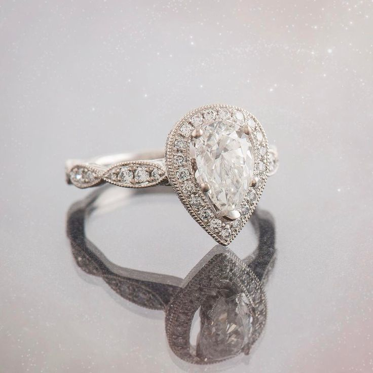 25+ Cute Pear Engagement Rings Ideas On Pinterest