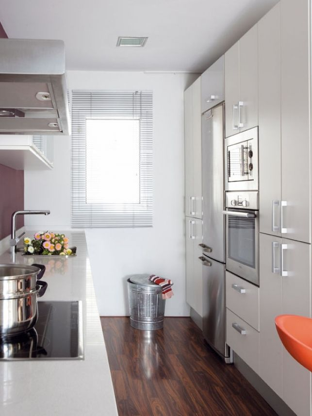 Las 25 mejores ideas sobre cocina larga y estrecha en - Cocinas rectangulares pequenas ...