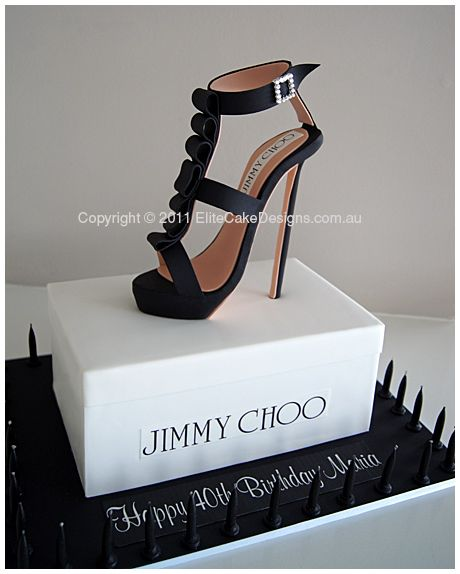 Jimmy Choo Stiletto Novelty CAKE!!!  (My b-day is in July people! Consider this notice!)