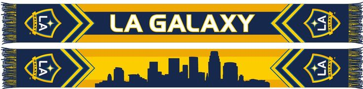 LA GALAXY SCARF - Skyline