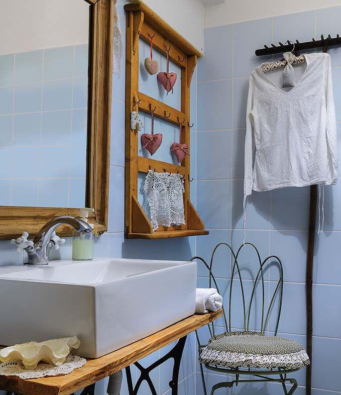 łazienka W Stylu Rustykalnym W Domu Pod Aniołami Domnawsi