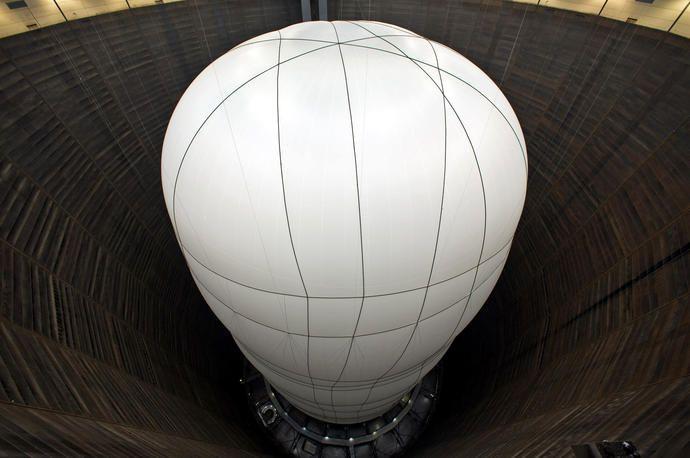 Big Air Package, Gasometer Oberhausen, Germany, 2010-13