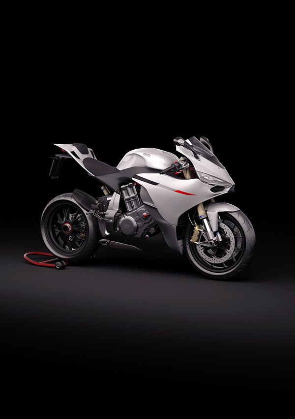Audi Supersport 10R on Behance - Audi making a motorcycle?