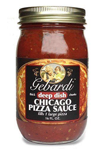 Gebardi Deep Dish Chicago Pizza Sauce